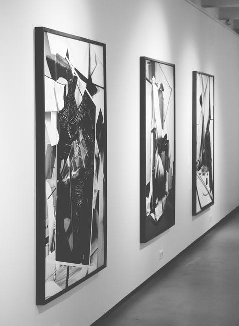 wyjątkowo modne czarno białe obrazy